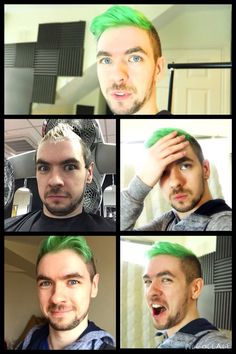 Sean died his hair for depression and bipolar charity!! Mark is also getting his done pink!! ☺️☺️ Good job guys!!