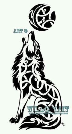 Lobos, Tatuajes de lobo and Tatuajes tribales on Pinterest