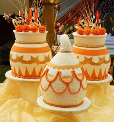 Traditional Wedding Cake Inspiration for your Engagement Ceremony Nigerian Traditional Wedding, Traditional Wedding Cakes, Traditional Cakes, African Cake, African Theme, Beautiful Cakes, Amazing Cakes, African Wedding Cakes, African Weddings