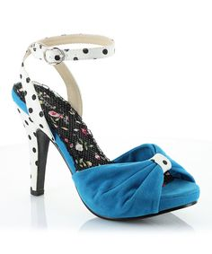 Take a look at this Turquoise Eleanor Pump on zulily today!