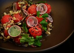 Chilled Watermelon Salad #Inspired