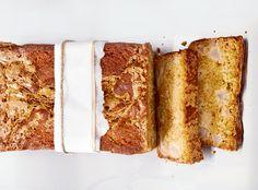 Butterscotch Pear Swirl Cake