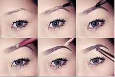Easy and quick eyebrow tutorial!