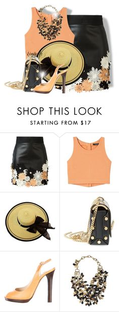 """""""Spring"""" by cavell ❤ liked on Polyvore featuring Emanuel Ungaro, Jimmy Choo and Ashley Pittman"""