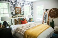 Boho eclectic bedroom