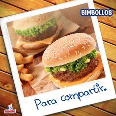 ¿Con quién compartirías tu rica hamburguesa hoy?