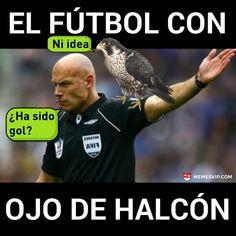 Fútbol con ojo de halcón - Football with Falcon Eye