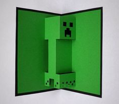how to make a minecraft birthday card - Google Search