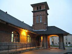 GUELPH , Ontario - VIA Railway station c Buck - 2010