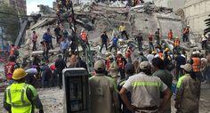 Мексико: Зграде срушене, више од 200 мртвих у разорном земљотресу (видео)  Најмање 200 људи погинуло је када је у уторак снажни земљотрес јачине 7,1 степен Рихтерове скале погодио централни Мексико, на дан када је пре 32 године на хиљаде људи страдало у разорном подрхт