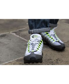 198d88adf1a3 Nike Air Max 95 Og Greedy White Green Trainers Sale Cheap Air Max 95