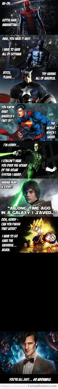 The Doctor is my hero