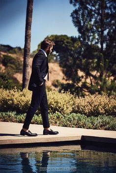 Male Fashion Trends: Joel Edgerton por Eric Ray Davidson para GQ Australia
