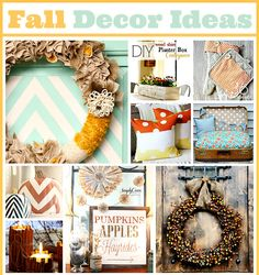 Simple But Cute Fall Home Decor Ideas! | 5 Fall Decor Items For Your Home on Old Time Pottery's Do More For Less