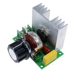 4000W AC 220V SCR Voltage Regulator Speed Controller Dimmer Thermostat Module | Business & Industrie, Sonstige Branchen & Produkte, Sonstige | eBay!