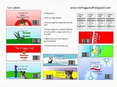 My Froggy Stuff Printable Folders | Picasa Web Albums - My Froggy Stuff can labels. Visit their you tube ...