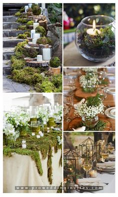 28 Whimsical and Chic Woodland Wedding Ideas to Get you Inspired