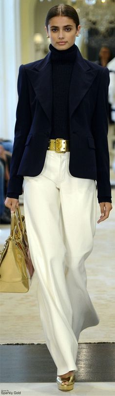 Ralph Lauren Resort 2015 Fashion Show Fashion Mode, Look Fashion, Winter Fashion, Womens Fashion, Fashion Design, Mode Chic, Mode Style, Elegante Y Chic, Party Dress Outfits