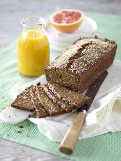 Njut av dansk frölimpa direkt från ugnen. Receptet är fritt från gluten.