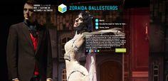 Actriz ZORAIDA BALLESTEROS