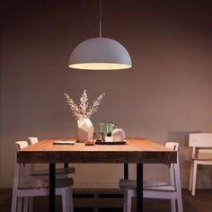 Weiße Metall Pendelleuchte Rye Mit LED Kaufen