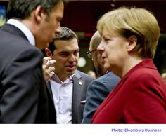 Euro-area finance ministers voiced their frustration with Greece after Prime Minister Alexis Tsipras tried to bypass their veto on financial aid with an appeal to Angela Merkel. Military Honors, Bloomberg Business, Austerity, The Flash, Euro, Greece, Mystery, Germany, Marketing