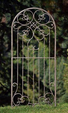 Wrought Iron Trellis. #patio #garden #deck #yardart #garden #afflink