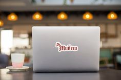 La Muneca Laptop Sticker #LatinoSticker #GirlfriendSticker #LaptopSticker #FeministSticker #DjSticker #LatinaAf #FeministLatina #Empowerment #LatinaSticker #MexicanSticker