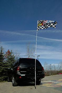 hitch flag pole