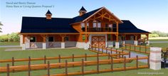 Barns and Buildings - quality barns and Buildings - horse barns - all wood…