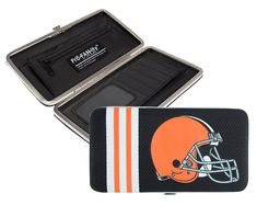 Cleveland Browns Shell Mesh Wallet Special Order