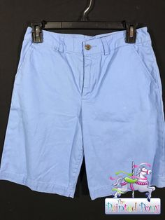 Boys size 16 light blue shorts by Polo, $18.99