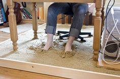 Artist Installs a Sandbox in his Home Office | DeMilked