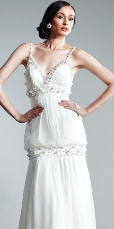 Drop Waist Evening Gowns by Nika at eDressMe
