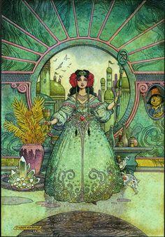 Ozma of Oz by William Stout