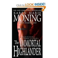 Karen Marie Moning Book 6 of Highlander Series - with my fave character, Adam Black.