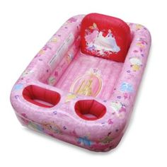 Disney Baby Inflatable Bathtub Kid Toddler Bath Tub Portable Pool Water Play for sale online Portable Bathtub, Portable Pools, Toddler Bath Tub, Kids Bath, Baby Tub, Baby Shower, Pink Princess, Princess Disney, Princess Nursery