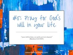 Prayer lesson Pray for God's will in your life - Pray for God's will in your life and to accept God's answers to your prayers, even when his answers aren't what you wanted. Teaching On Prayer, Learning To Pray, Prayer List, Prayer For You, Prayer Prayer, Prayer Crafts, Short Prayers, Online Prayer, Prays The Lord