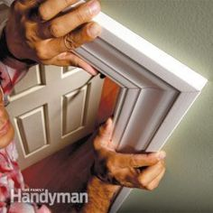 How to not have gaps in mitered edges. Tips for Tight Miters and Miter Cuts   The Family Handyman