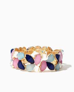 charming charlie   Passionate Petals Bracelet   UPC: 410006503960 #charmingcharlie $13