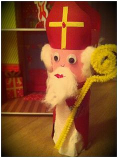 Sinterklaasje van Wc-rol