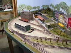 Image result for round the room 12'x12' ho scale