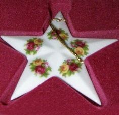 Royal Albert China Series - Christmas Ornaments- Star