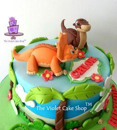 LAND BEFORE TIME Dino Cake