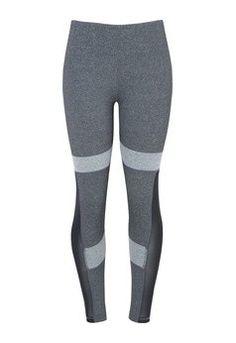 Calça legging envision - cinza mescla
