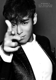T.O.P // BIGBANG'S 2016 WELCOMING POSTER
