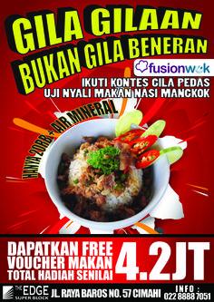 poster nasi mangkok