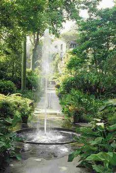 Fountain at La Mortella, Ischia, Italy