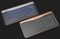 Bastron Glass Touch Smart Keyboard - $64 for non bluetooth version (bottom right), $79 for bluetooth version (top left)