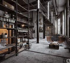Consulta esta foto de Instagram de @industrial_interior • 1,316 Me gusta